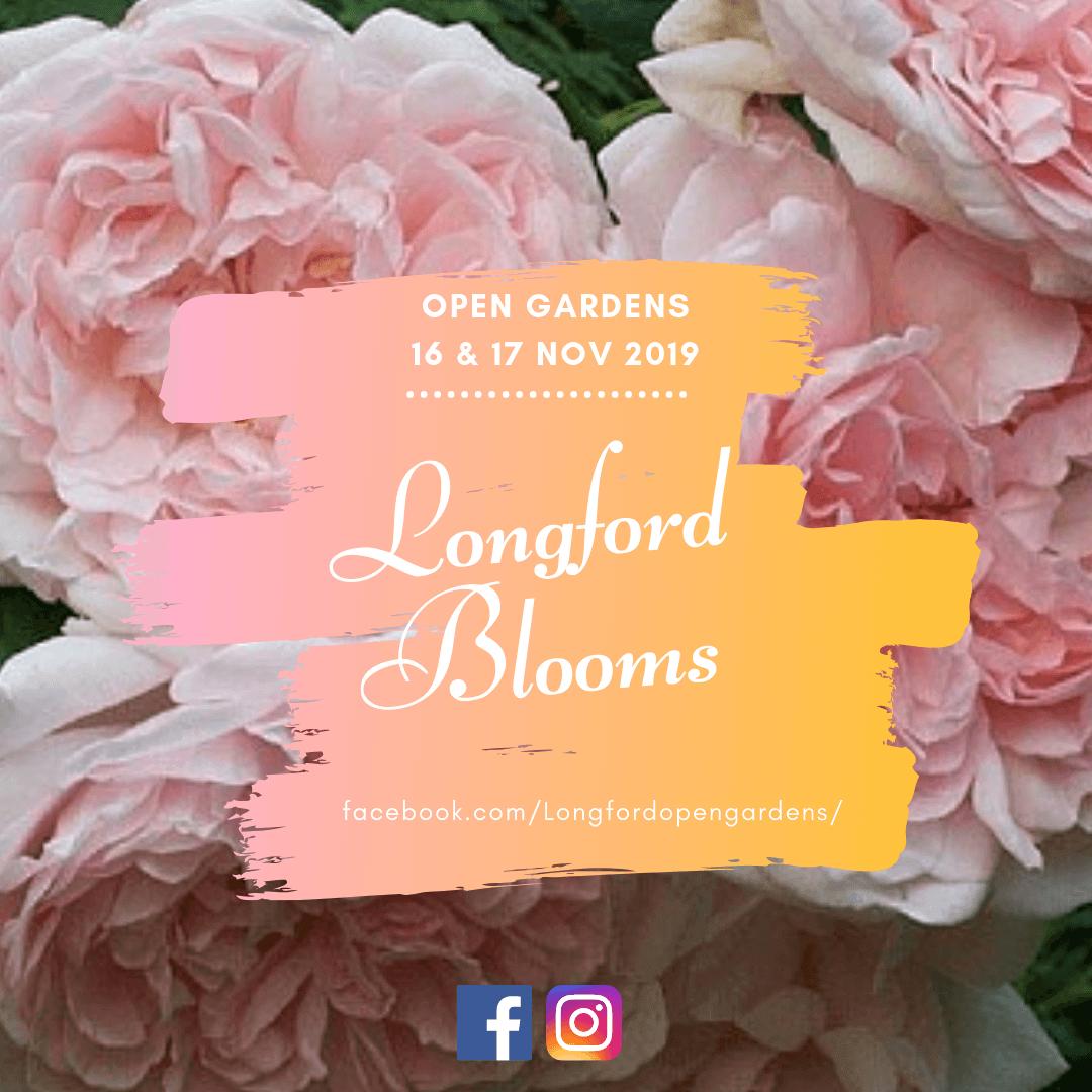 Longford Blooms open gardens